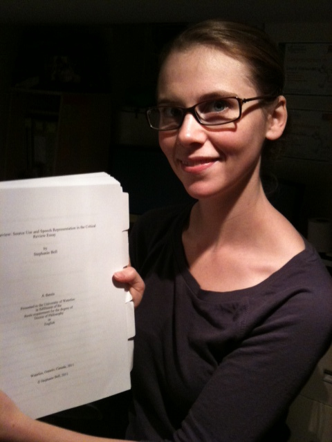 Catherine g burke the doctoral dissertation proposal