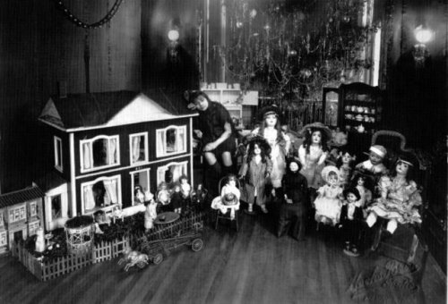 Roberta Church, Christmas c1921