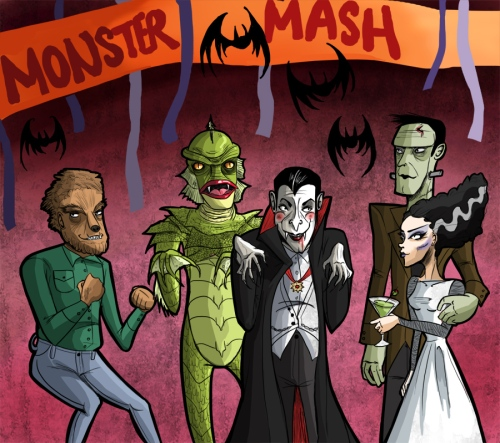 MONSTER_MASH_by_ChocolatePug