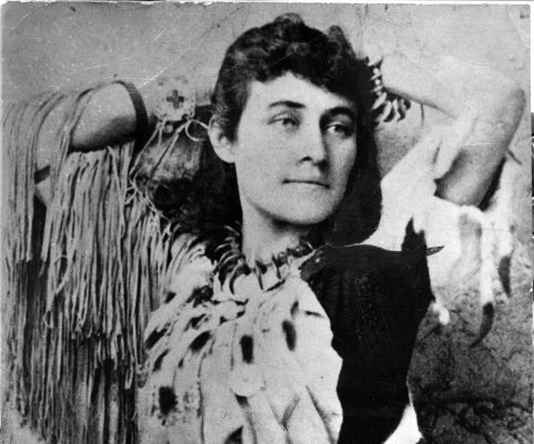 Handout photo  of Pauline Johnson. PNG photo files