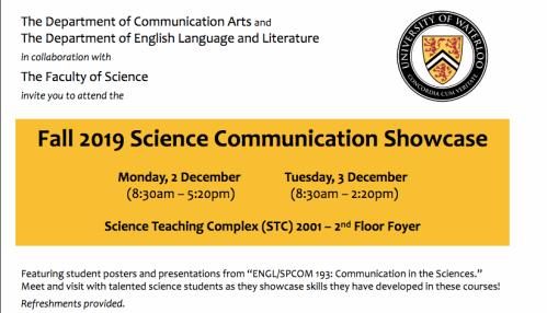 Science Communication Showcase