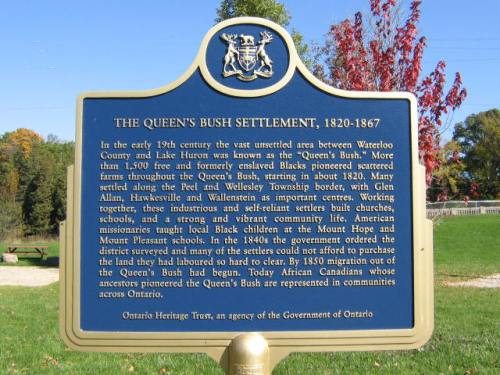 Queen's Bush Marker